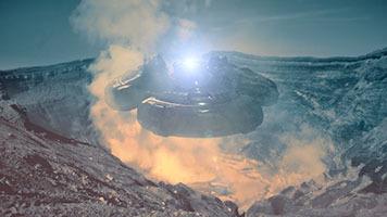 nave espacial proyecto serpo